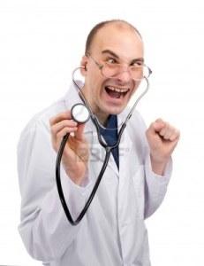 6399899-medico-pazzo-isolato-over-white