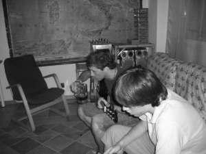 chitarra, suonare, alcol rum,