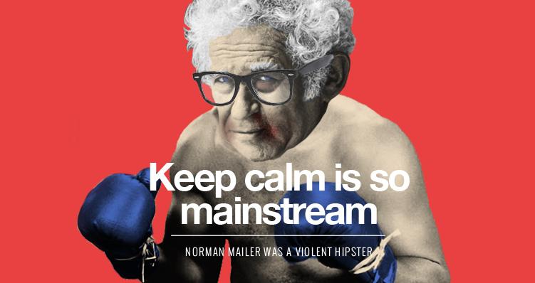 Norman-Mailer-Violent-Hipster-Snack