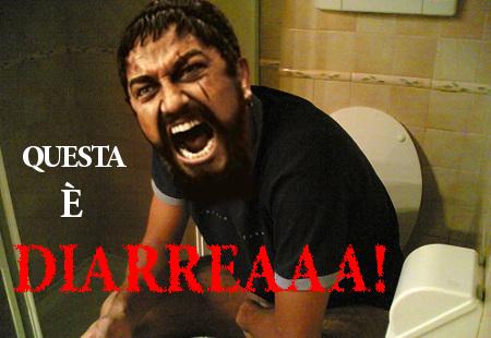 Leonida_sul_cesso_questa_è_diarrea
