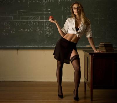 Professoressa hot sexy