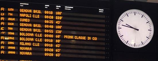 Trenitalia ritardi