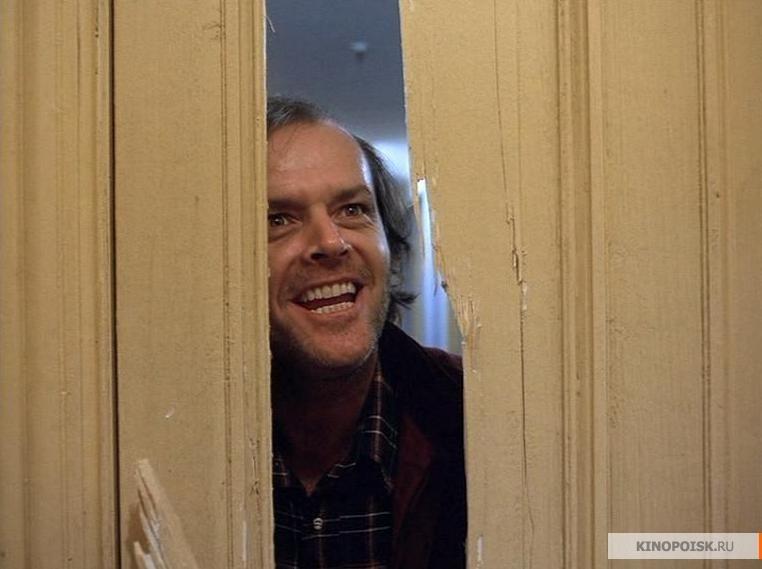 Shining Jack Nicholson sorriso